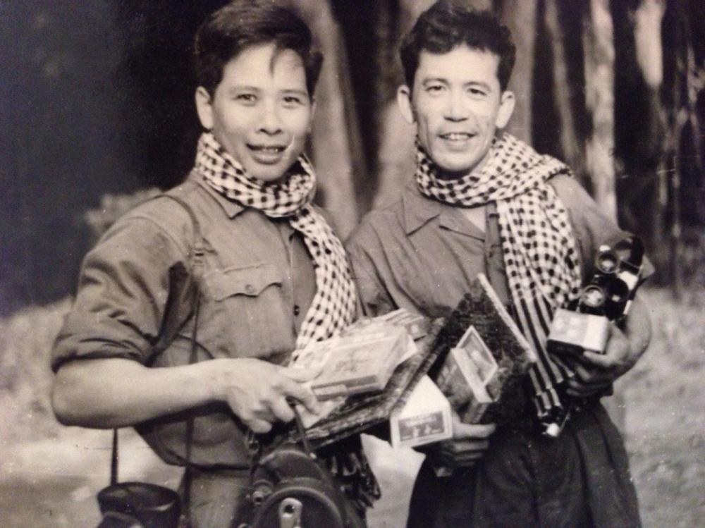 """""""Lão tướng"""" của Điện ảnh Quân đội nhân dân từng đi qua các chiến dịch, các trận đánh lớn trong chiến tranh, ghi lại những thước phim của một thời - Ảnh: Tư liệu"""