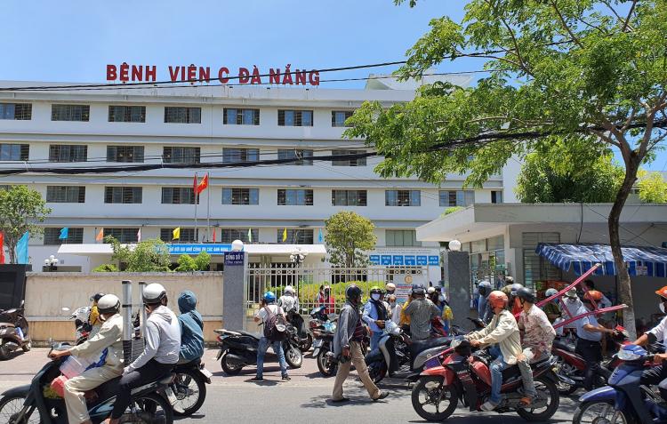 Bệnh nhân 420 đang điều trị tại BV C Đà Nẵng