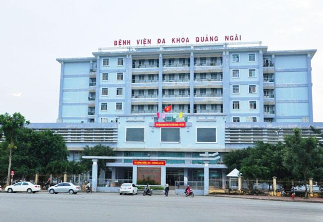 Bệnh viện Đa khoa Quảng Ngãi đang tiếp nhận và điều trị bệnh nhân 419
