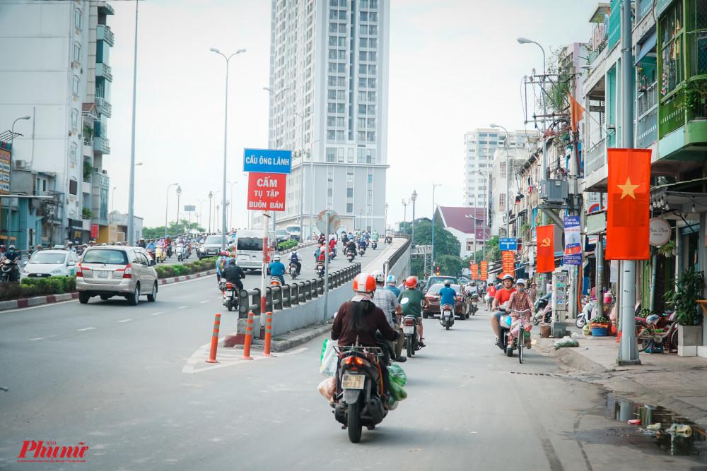 Đường Nguyễn Thái Học ngày nay. Ảnh: Tam Nguyên