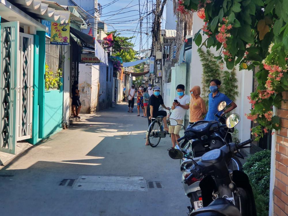 Nơi cư trú của bệnh nhân 418 ở Đà Nẵng đang được khử khuẩn