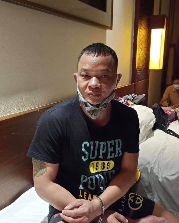 Cao Lượng Cố - một trong những đối tượng đã bị khởi tố về hành vi tổ chức đưa người nước ngoài vào Việt Nam trái phép.