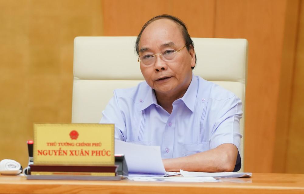 Thủ tướng Nguyễn Xuân Phúc đồng ý thực hiện giãn cách xã hội toàn thành phố Đà Nẵng - Ảnh: VGP