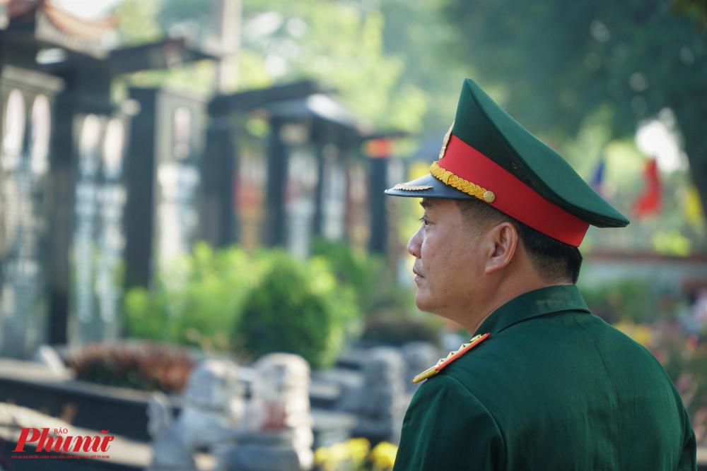 Một phút thả hồn vào hư không, tưởng niệm về các liệt sĩ của một đồng chí trong Đoàn