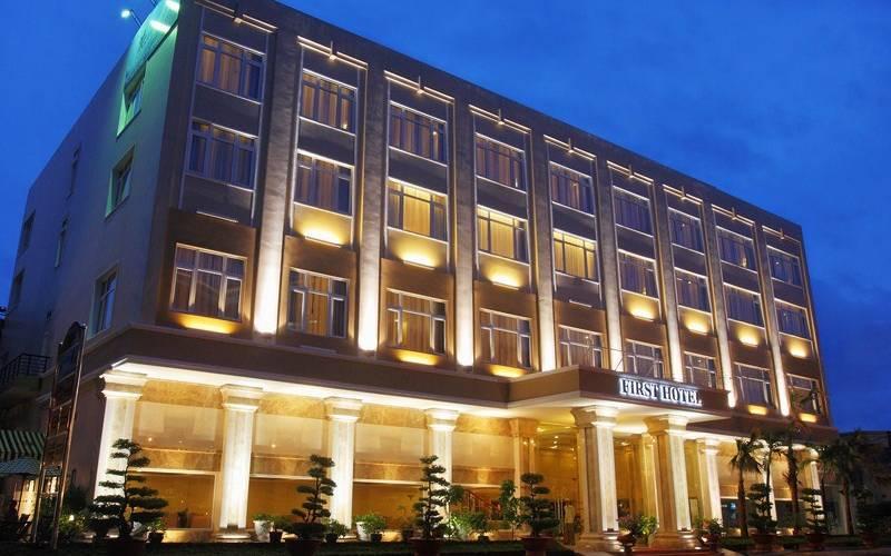 Khách sạn Đệ Nhấtchuẩn 4 sao được chọn là 1 trong 8 nơi cách ly trả phí cho người nhập cảnh tại TPHCM. Ảnh: internet