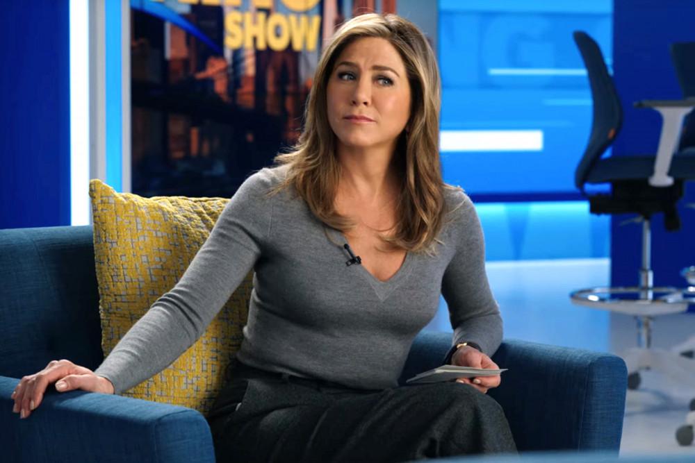 Hình ảnh của Jennifer Aniston trong phim The Morning Show.
