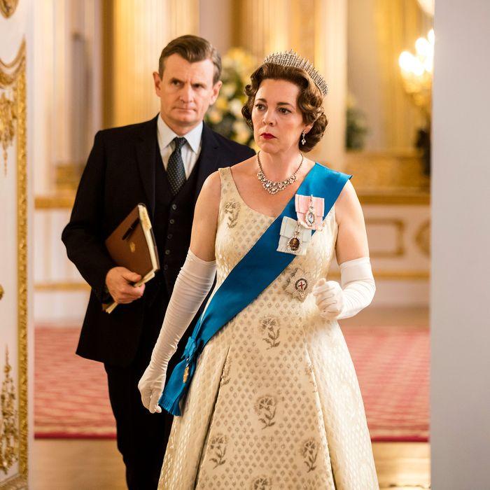 Cuộc đua của danh hiệu Nữ diễn viên xuất sắc nhất thể loại phim truyền hình không thể thiếu Olivia Colman của The Crown.