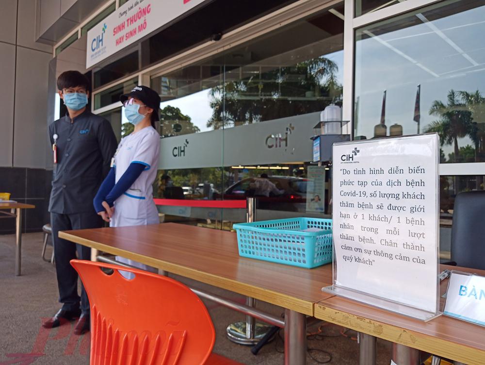 Bệnh viện Quốc tế City đã ngừng nhận bệnh trong 3 ngày từ ngày 29/7 đến ngày 31/7 để phòng chống COVID-19