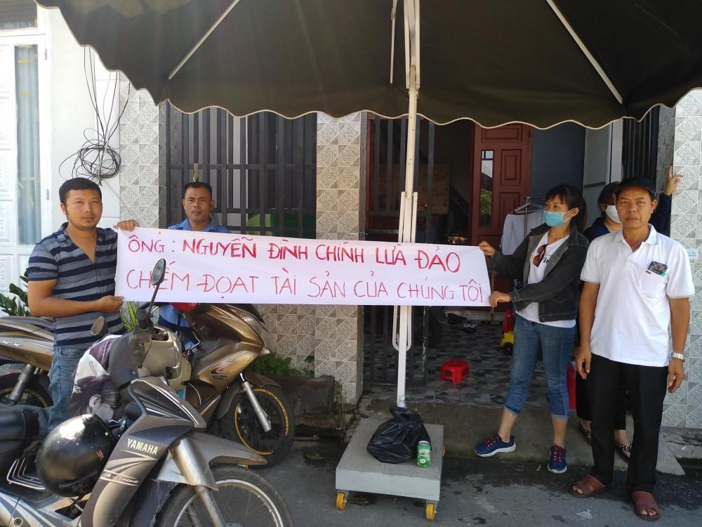 Khách hàng tố cáo ông Nguyễn Đình Chính lừa đảo