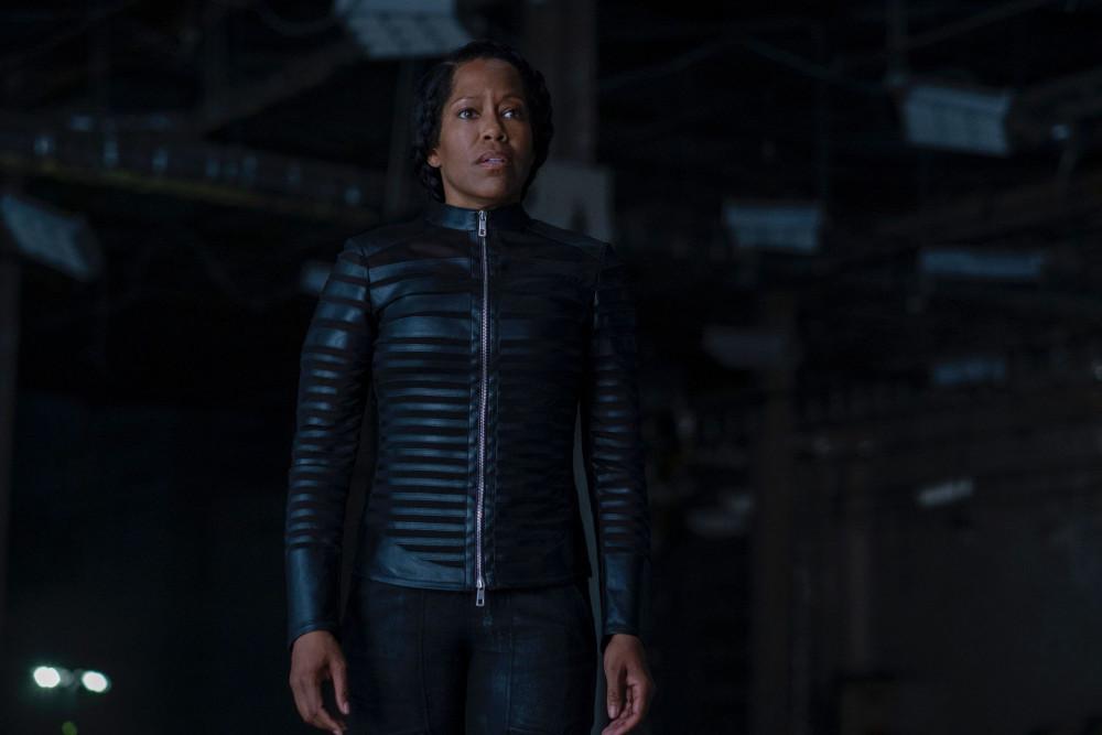 Regina King trong Watchmen - bộ phim nhận được nhiều đề cử nhất Emmy 2020.