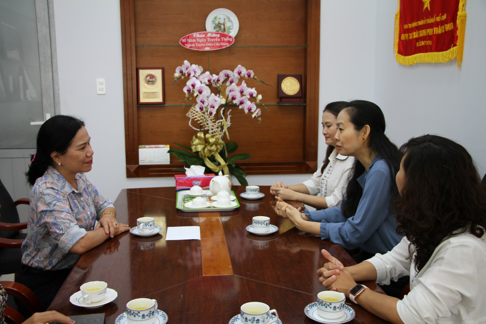 Phó trưởng Ban Tuyên giáo Thành ủy Nguyễn Thị Thu Hoài