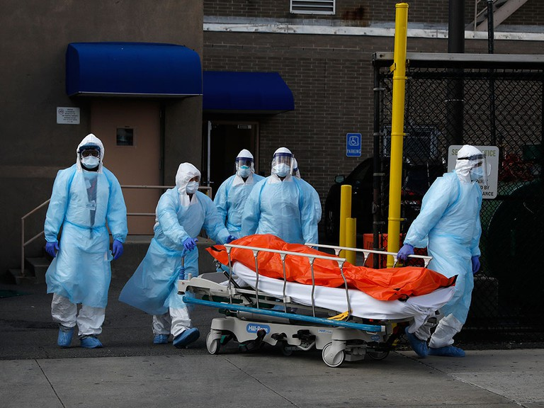 Số người chết tại Mỹ tăng vọt trong nhiều ngày qua.