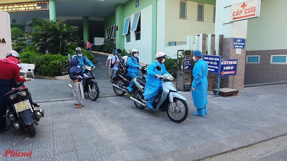 Sau khi được tập huấn sinh viên sẽ tham gia chống dịch tại Đà Nẵng (hình minh họa), ảnh Lê Đình Dũng.