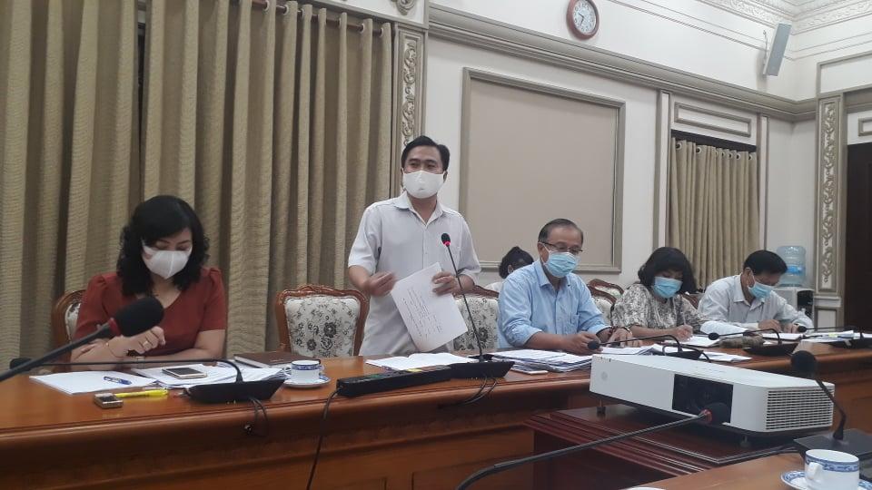 Đại biểu Hội đồng Nhân dân TPHCM Cao Thanh Bình