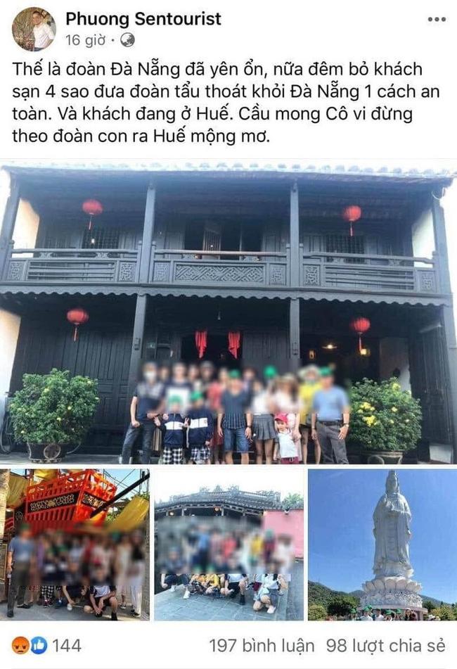 Trước đó tài khoản Facebook cá nhân của ông Phương  đăng nhiều nội dung gây hoang mang dư luận