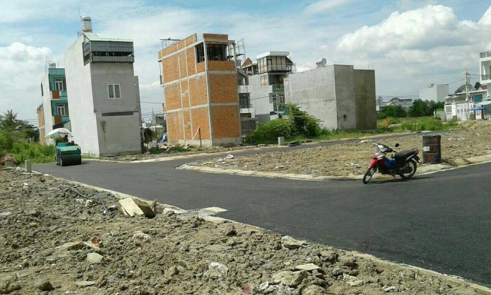 Khu đất mà đối tượng Nguyễn Thị Diệu Thuý