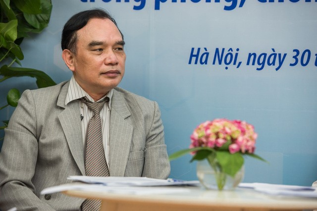Phó giáo sư Nguyễn Xuân Ninh - Phó Viện trưởng Viện Y học ứng dụng Việt Nam. Ảnh: do THP cung cấp