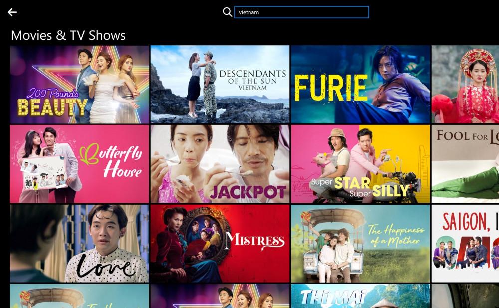 Số lượng phim Việt vẫn còn hạn chế trên Netflix