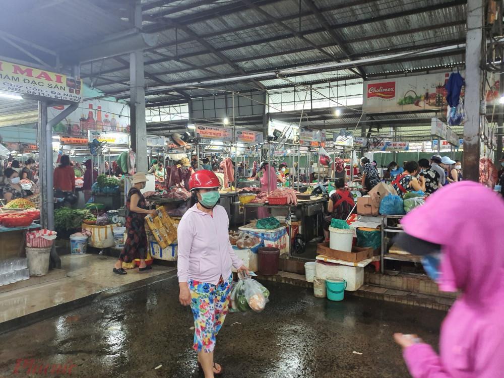 Các chợ, siêu thị ở Đà Nẵng vẫn hoạt động và đảm bảo nhu yếu phẩm
