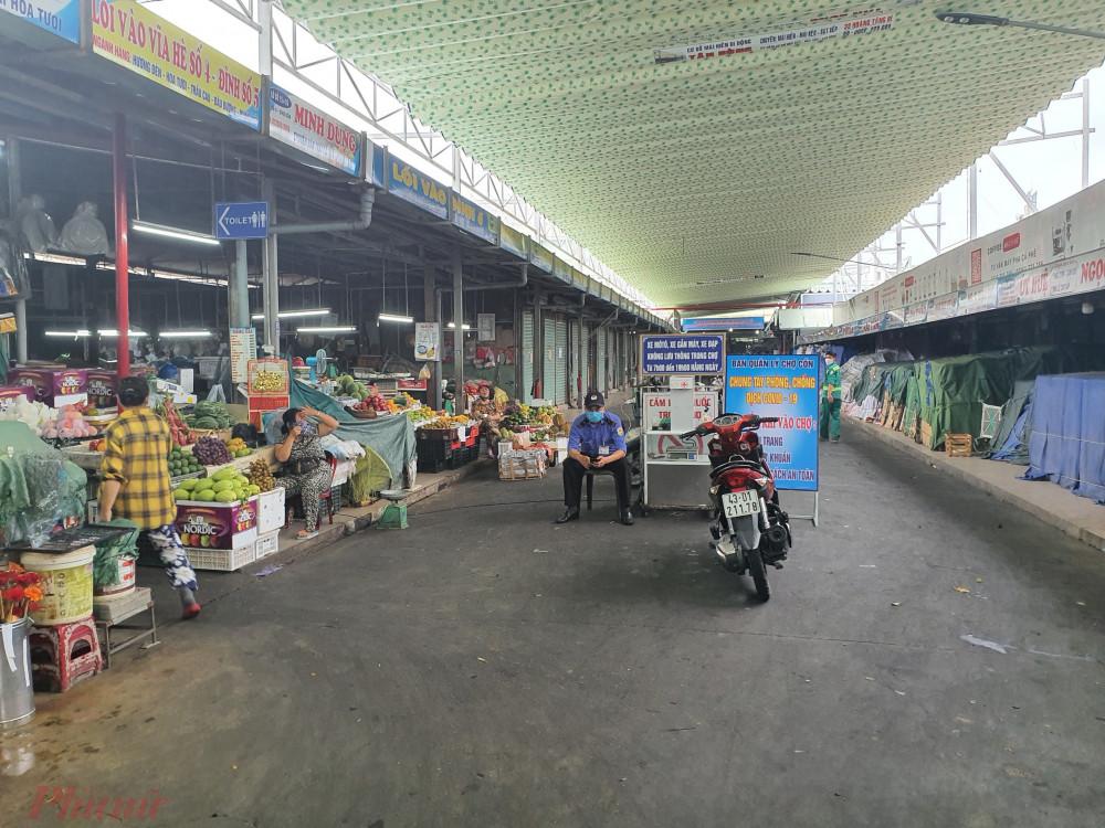 Các chợ ở Đà Nẵng hoạt động bình thường