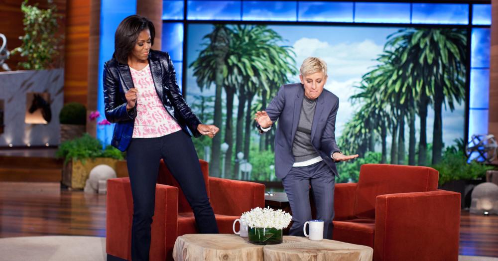 Ellen show là chương trình trò chuyện hấp dẫn khi khai thác được nhiều câu chuyện cảm xúc của khách mời nổi tiếng.