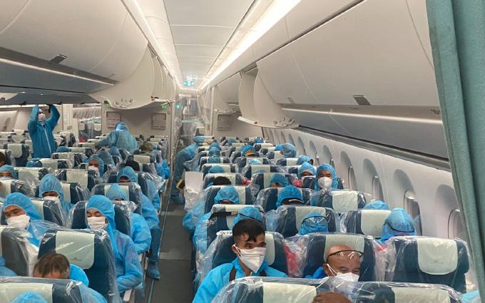 VN06 là một chuyến bay đặc biệt của hàng không Việt Nam, lãnh sứ mạng đón công dân nhiễm COVI-19 từ vùng dịch về nước