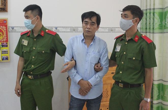 Ngô Văn Tính lúc bị bắt
