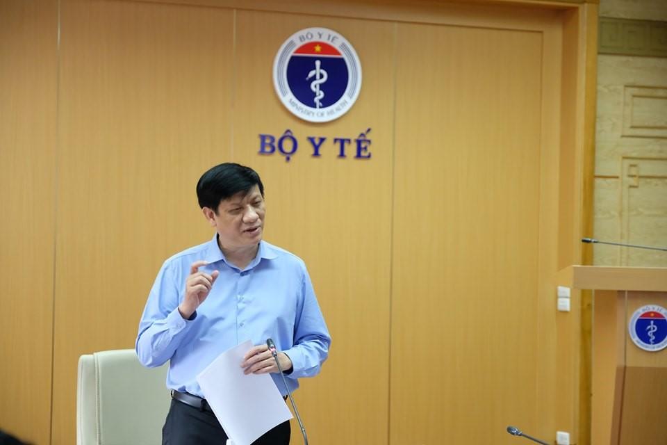 Quyền Bộ trưởng Bộ Y tế Nguyễn Thanh Long yêu cầu khẩn cấp giảm mật độ tại Bệnh viện Đà Nẵng