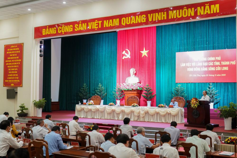 Toàn cảnh buổi làm việc  - Ảnh: VGP/Quang Hiếu