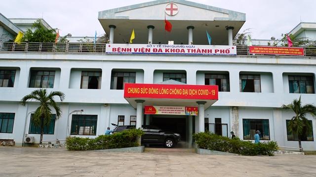 BV đa khoa thành phố Quảng Ngãi được mở cửa khám chữa bệnh vào ngày mai 3/8