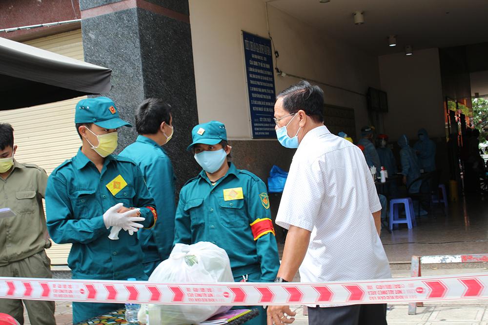 Chung cư Thái An 2 TPHCM được phong tỏa khi phát hiện ca bệnh thứ 567
