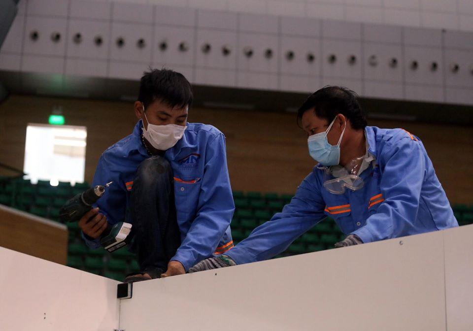Bà Ngô Thị Kim Yến - Giám đốc Sở Y tế TP.Đà Nẵng cho biết, các trang thiết bị phục vụ điều trị cơ bản đã đầy đủ, cơ sở hoàn thành sẽ lập tức đi vào hoạt động.