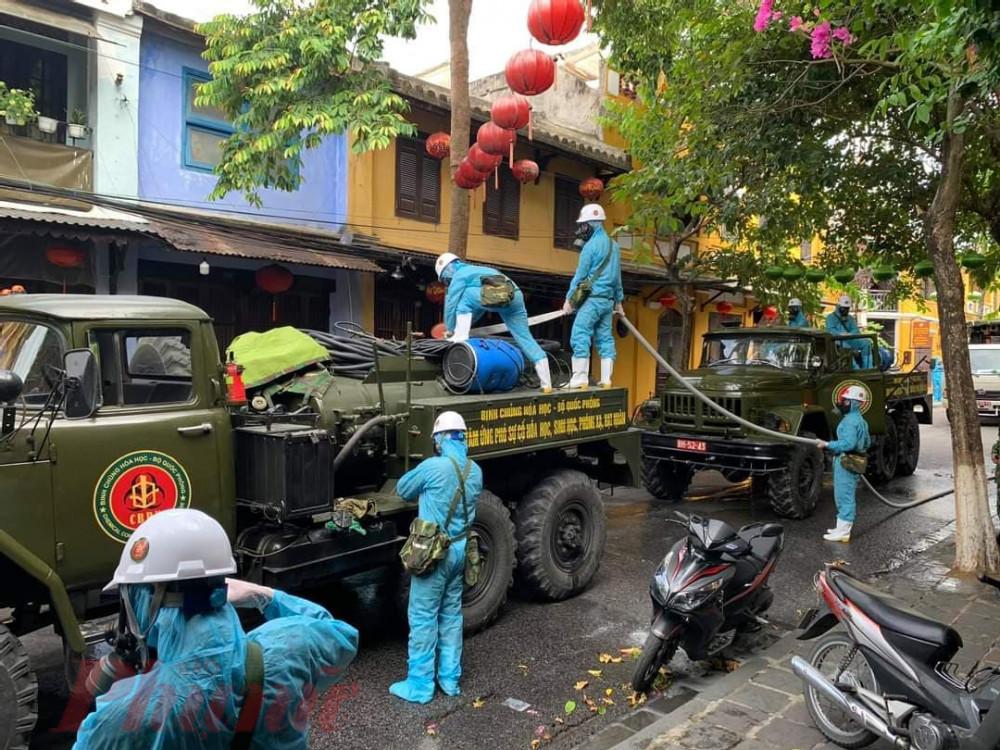 Hội An đang kêu gọi các lực lượng hỗ trợ thành phố dập dịch