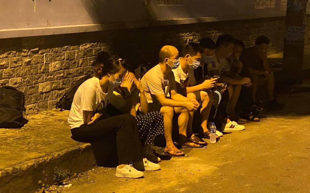 Những người Trung Quốc nhập cảnh trái phép bị phát hiện tại TP.HCM