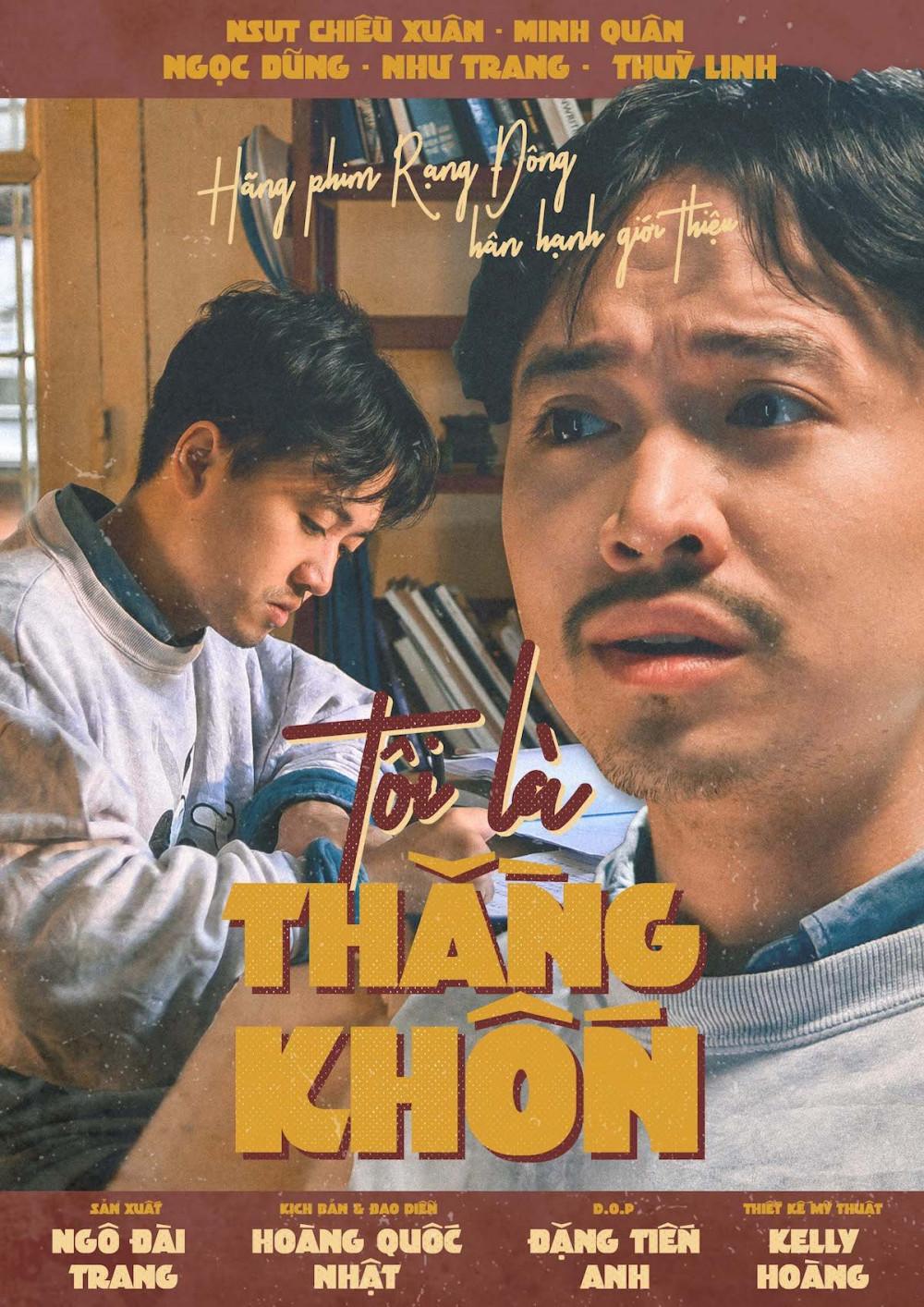 """Phim ngắn """"Tôi là thằng khốn"""" của đạo diễn Nguyễn Hoàng Nhật được phát hành miễn phí"""
