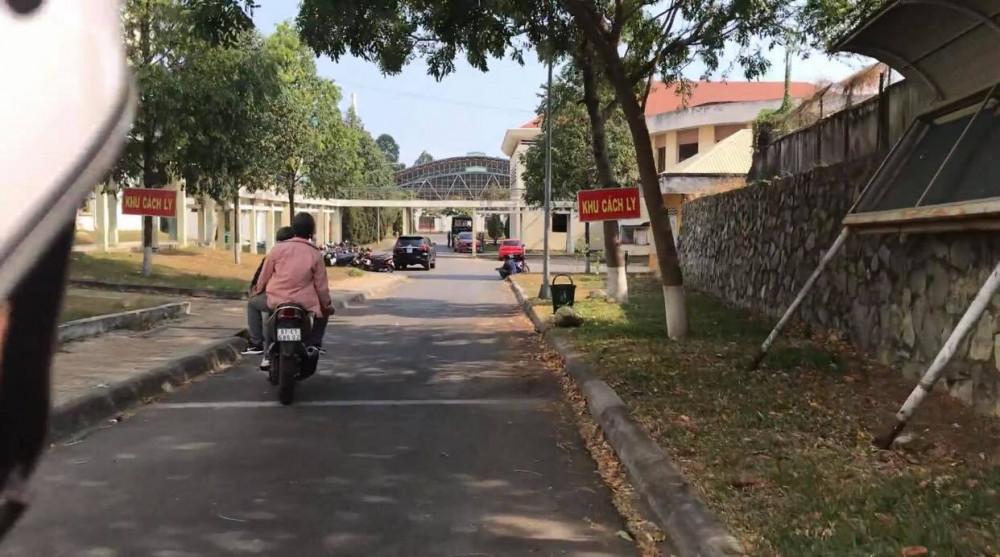 Một khu cách ly trước đó ở TP Thuận An