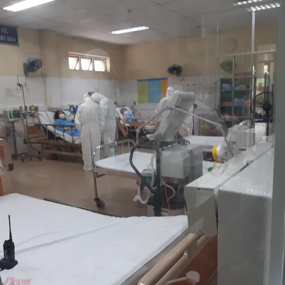 Bệnh nhân nhiễm COVID-19 đang được điều trị tại Bệnh viện Đà Nẵng