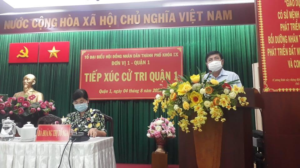 Chủ tịch UBND NGuyễn Thành Phong thông tin về việc tổ chức kỳ thi