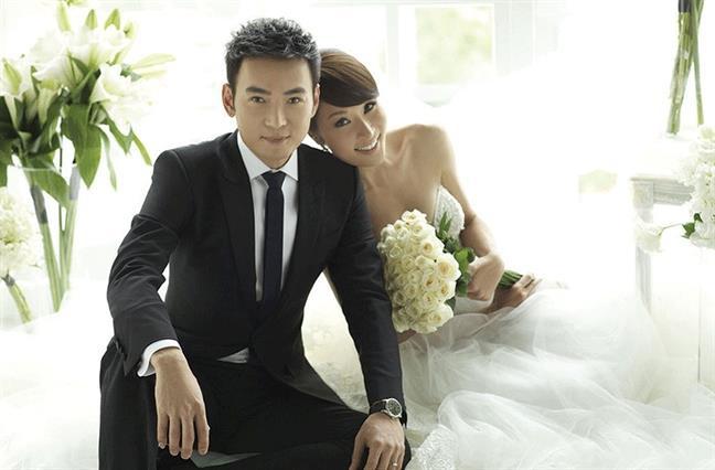Tiêu Ân Tuấn và Lâm Thiên Ngọc thuở còn hạnh phúc