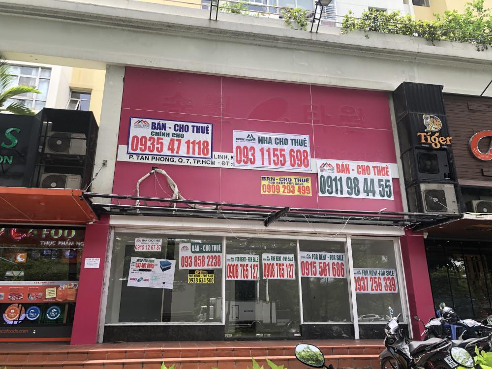 Shophuse tại chung cư khu vực Phú Mỹ Hưng