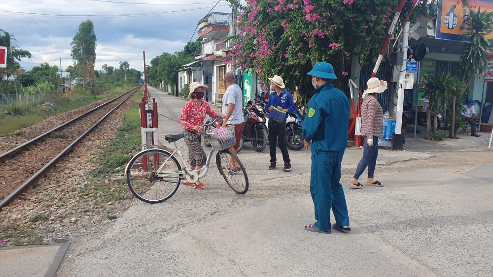 Thôn Lệ Sơn Nam, xã Hòa Tiến, Hòa Vang bị phong tỏa
