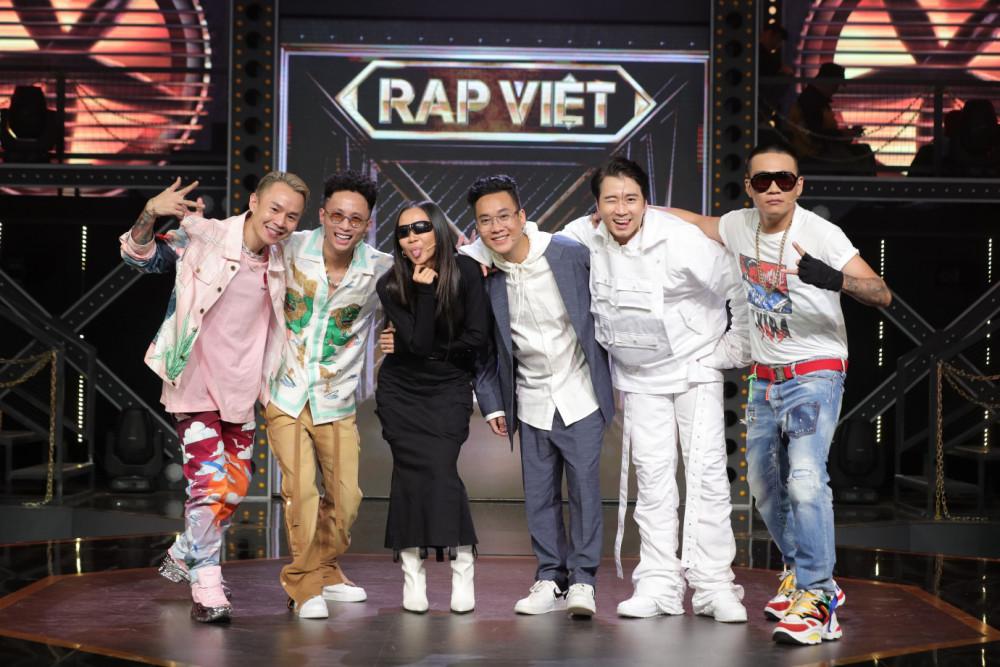 Dàn huấn luyện viên, giám khảo là những rapper hàng đầu tại Việt Nam của Rap Việt.