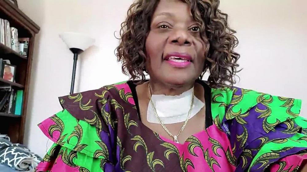 Nữ y tá Sharon Tapp trải qua 117 ngày không thể quên trong bệnh viện khi bị COVID-19 - Ảnh: CNN