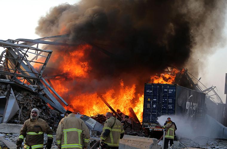 Ít nhất 78 người thiệt mạng trong vụ nổ kinh hoàng ở Lebanon
