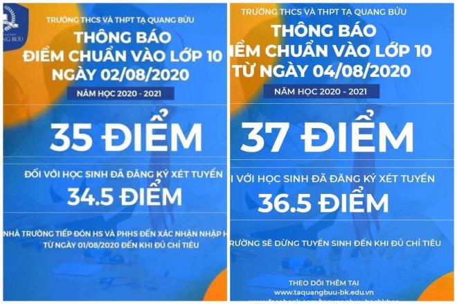 Điểm chuẩn vào trường THCS - THPT Tạ Quang Bửu nhảy múa mỗi ngày khiến phụ huynh đau tim