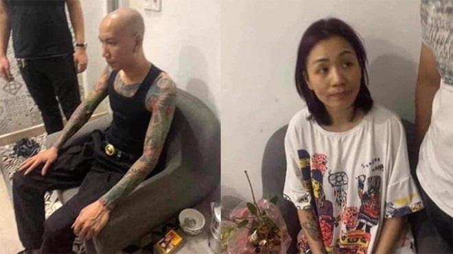 Phú Lê và vợ Thuý Kiều bị công an TP Hà Nội bắt giữ hôm 5/8.