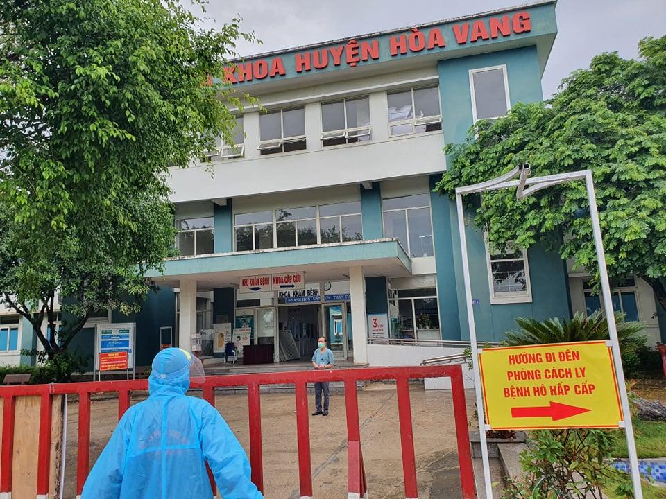 Trung tâm Y tế huyện Hòa Vang, ảnh Lê Đình Dũng