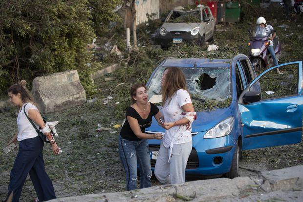 Máu và nước mắt ở Beirut...