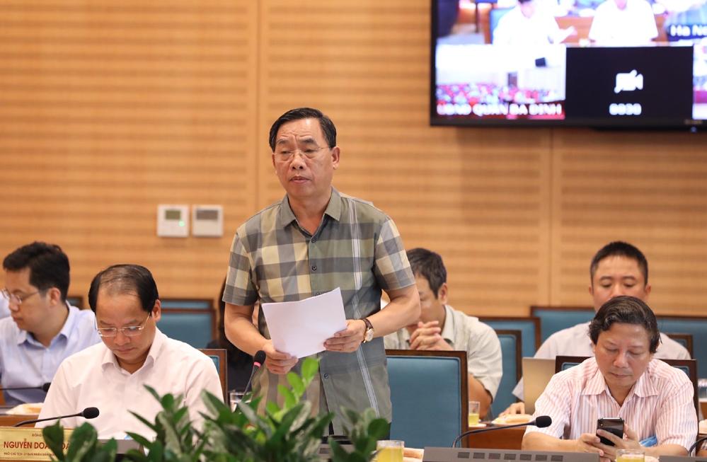 Ông Nguyễn Khắc Hiền - Giám đốc Sơ Y tế Hà Nội.