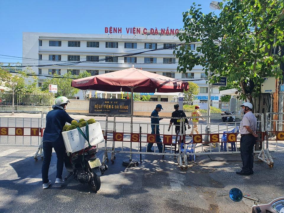0g ngày 8/8 Bệnh viện C Đà Nẵng sẽ hoạt động trở lại, ảnh Lê Đình Dũng.